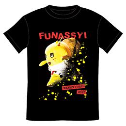 ZEPP ふなっしー NASSYI FESTシャツ(ブラック)