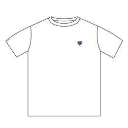 ハーティング Tシャツ[ホワイト]