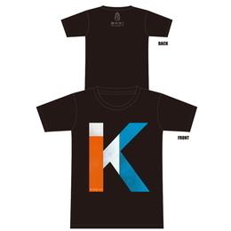 K Tシャツ[ブラック]