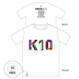 K10 TOUR T-Shirt [ホワイト]