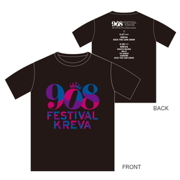 908FES 2015  T-Shirts (東京公演限定販売)[ブラック]