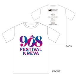 908FES 2015  T-Shirts (東京公演限定販売)[ホワイト]