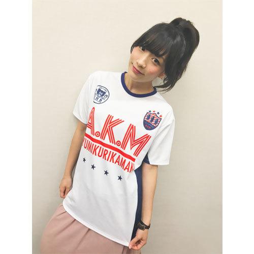 あゆくまサッカーシャツ