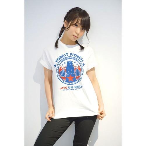 FITNESSファイヤーTシャツ
