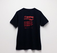 Design T shirt・A+ #34 【Black&Red】
