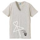 VネックTシャツ【オートミール】