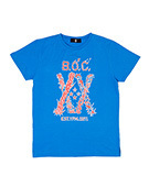 20TH ANNIV. Slit TEE BLUE
