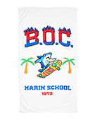 MARIN SCHOOL Beach Towel