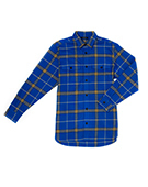 BFLY Plaid Shirts BLUE