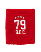 Wristband Numbering79 Red