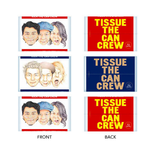 TISSUE THE CAN CREW 2017 (3コセット)