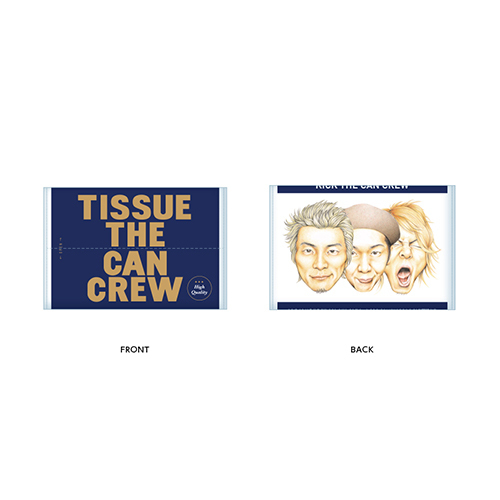 TISSUE THE CAN CREW(3コセット)