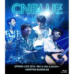 SPRING LIVE 2016~We're like a puzzle~@NIPPON BUDOKAN【BOICE盤Blu-ray】