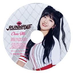 2nd ALBUM『RUNWAY』≪初回限定盤ピクチャーレーベル(CHANMI)≫