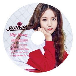 2nd ALBUM『RUNWAY』≪初回限定盤ピクチャーレーベル(HYEJEONG)≫