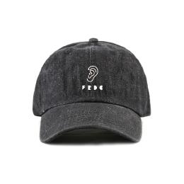 FRDC EAR CAP / ブラックデニム