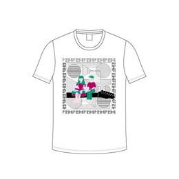 音この子と音なの子Tシャツ / ホワイト