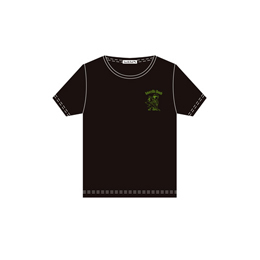 Amaryllis Bomb EMOTION Tシャツ(半袖・黒・M)