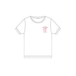 Amaryllis Bomb EMOTION Tシャツ(半袖・白・M)