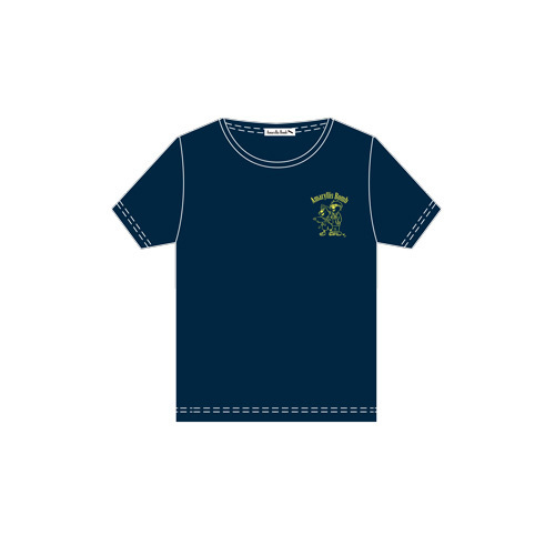 Amaryllis Bomb EMOTION Tシャツ(半袖・ネイビー・M)
