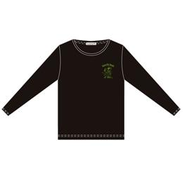 Amaryllis Bomb EMOTION Tシャツ(長袖・黒・M)