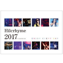 Hilcrhyme 10th Anniversary TOUR 2016 BEST10 カレンダー