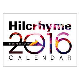 Hilcrhyme Christmas LIVE 2015「YUKI no FURUMACHI」卓上カレンダー
