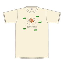 おサルとレンちゃんのおでかけTシャツ【キナリ】
