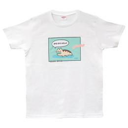 NAMiDAのレンちゃんTシャツ/ホワイト