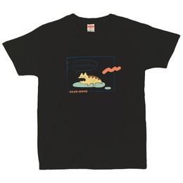 NAMiDAのレンちゃんTシャツ/ブラック