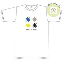 KANA-BOON パチパチTシャツ/ホワイト