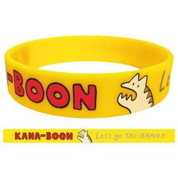 KANA-BOONのLet's go TAI-BAAN!!ラバーバンド/イエロー