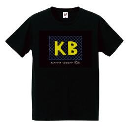 夏のKB あみあみTシャツ/ブラック