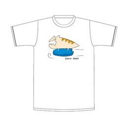 レンちゃんのビート板Tシャツ/ホワイト
