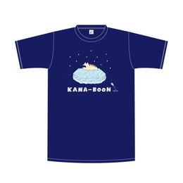 レンちゃんオンザアイスTシャツ/ネイビー