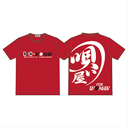 Tシャツ(ROCK FOR WOMAN)RED