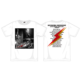 "Tシャツ(LIVE HOUSE TOUR 2016""RUSH"")WHITE/B"
