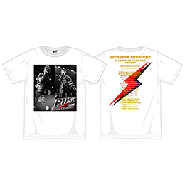 "Tシャツ(LIVE HOUSE TOUR 2016""RUSH"")WHITE/A"
