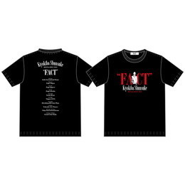 "Tシャツ(ROCK&SOUL2015""FACT"")BLACK"