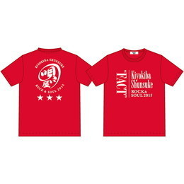 "Tシャツ(ROCK&SOUL2015""FACT"")RED"