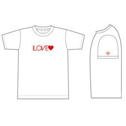 I LOVE Tshirt White
