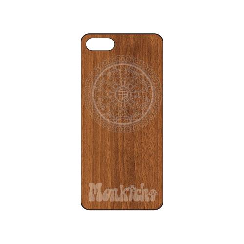 モン吉 Wood iPhoneケース