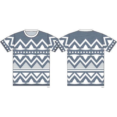 モン吉 ネイティブ柄 Tシャツ