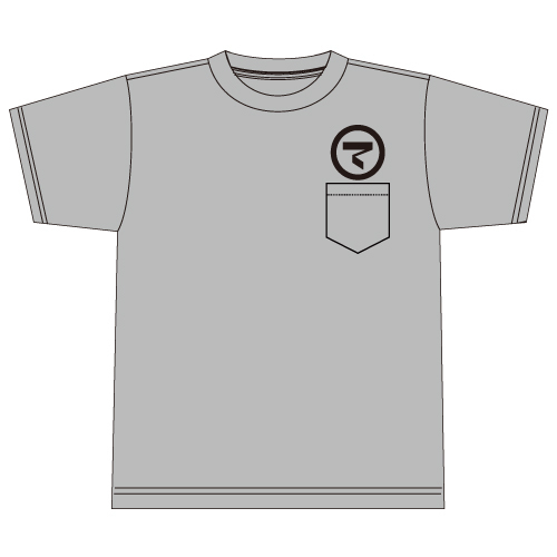 ONAKAMA POCKET T-SHIRTS(GRAY)