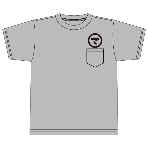 ONAKAMA POCKET T-SHIRTS(GRAY)
