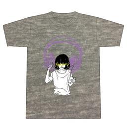 ヘッドフォンガールTシャツ