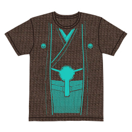 伽羅古袴Tシャツ【チョコ×ミント】