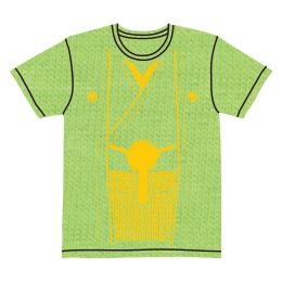伽羅古袴Tシャツ【ライムグリーン×イエロー】