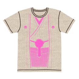 伽羅古袴Tシャツ【ナチュラル×ピンク】