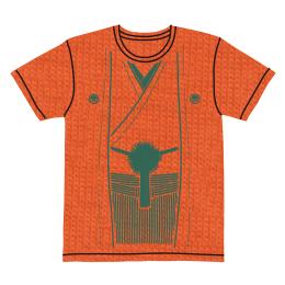 伽羅古袴Tシャツ【オレンジ×グリーン】